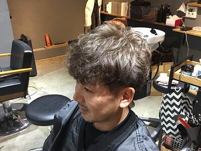 深夜美容室アンドワークスのメンズヘア画像です。